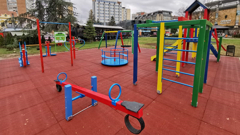 SBB Foundation builds park-playground in Kragujevac
