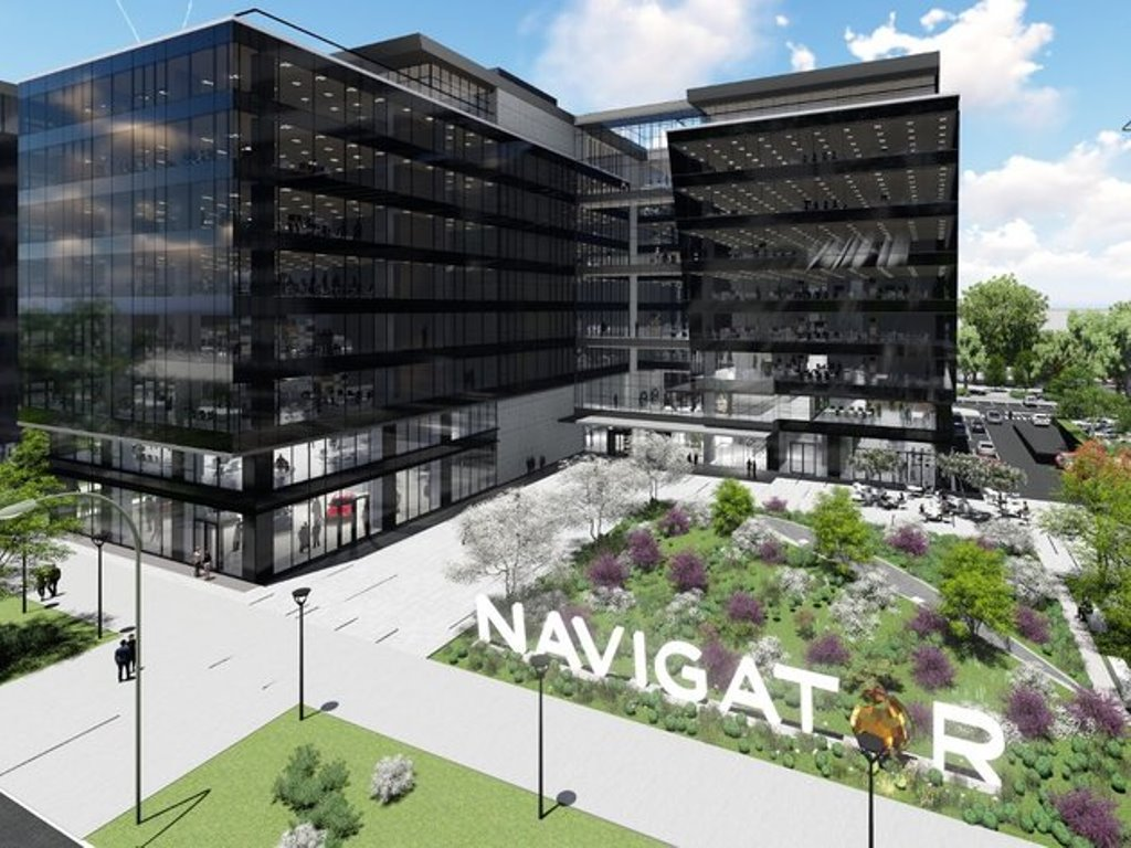 Construction of Navigator Business Center 2 in New Belgrade starts