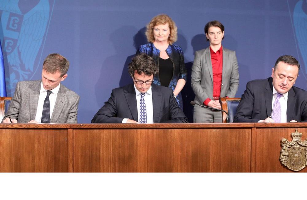 Memorandum of Understanding between Rio Tinto and Government of Serbia