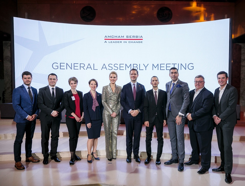AmCham Elects New Board of Governors Members and Delivers AmCham HERO Award to Dr. Miodrag Stojković