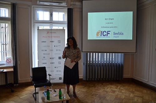 Presentation of the ICF's Serbian branch
