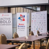 Speed Business Meeting with French-Serbian Chamber of Commerce and Nordic Business Alliance