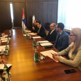 Meeting with the Minister for Environmental Protection